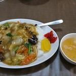 北京 - 料理写真:うま煮ライス