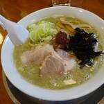 煮干中華 あさり - 辛味そば750円(デフォで味噌)