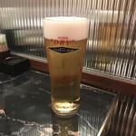 nikuryourikojirou - 生ビールはエクストラゴールド(飲み放題メニューより)