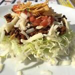 ラ サルサ サウザン カリフォルニア ブッフェ - 料理写真:タコライス