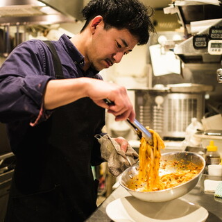 イタリアン一筋のシェフが作る料理とは?