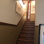 椿屋カフェ - 2階が店内