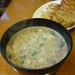 ぎょうざ屋 - スープ