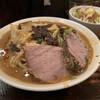 濃菜麺 井の庄 - 料理写真:辛辛濃菜麺、大盛り、硬め濃いめ、辛さ控えめ   ジロベシコッテリ