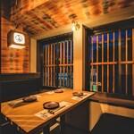 個室 肉炉端居酒屋 九州うまか屋 - 内観写真: