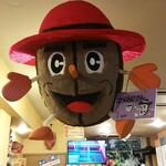 Mamekoubou - 天井から歓迎してくれる豆おじさん