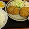 ラーメンハウスたなか - 料理写真:キャベツメンチ定食