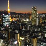 126056107 - ロビーから見る東京タワー