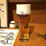 鉄板居酒屋 たいよう - 生ビール