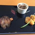 西村屋ホテル招月庭 レストランRicca - ・前菜(アンティパストミスト3種)
