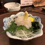居酒屋・炭火焼 庄八 - 白エビ刺
