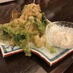 居酒屋・炭火焼 庄八 - 山菜天ぷら盛り