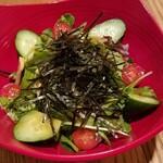 ひつまぶし名古屋備長 - 野菜サラダも美味しかった♪