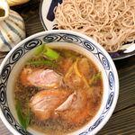 森の麻布 - 鴨南蛮 つけ麺