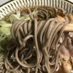 郷土銘産品 山形銘店 - 冷たい肉そば、いただきま〜す