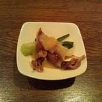 ピッコロラモ - 先付け「ホタルイカの酢味噌和え」