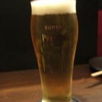 はなれのくるり - 生ビール
