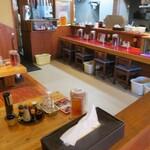 長崎らーめん 西海製麺所 - 店内の様子。