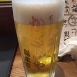 かぶらや総本家 - 生ビール