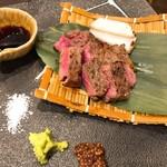 126084727 - 佐賀牛のサーロイン炭焼き