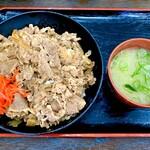 資さんうどん - 牛肉肉丼