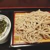 東京健康ランド まねきの湯 レストラン - 料理写真:ざるそば