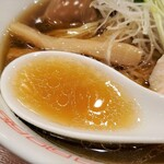 六九麺 - スープ