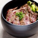 ビストロ タケノヤ - やわらかハラミ丼