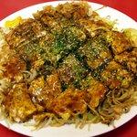 広島お好み焼き 廣 - 肉玉そば(700円)