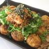 Takoshin - 料理写真:クセになるキムチごまラー油