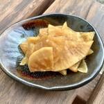 俵山交流館 萌の里 - 【大根の醤油漬 220円/300g】生大根で作られています。