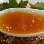 Mugitooribu - 蛤SOBAのスープ