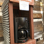 地鶏もも子とけさぶろう商店 - コーヒーサービス 本格的、美味しい珈琲です!