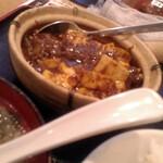 台湾料理 千客萬来 - 麻婆豆腐 アップ
