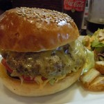 OATMAN DINER - Cheese Burger