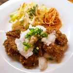 洋食のグルメ - 和風とんかつ定食