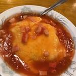 中華料理 全家福 - 料理写真:ラーメンセットの天津飯