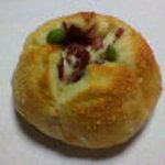 パンのくっくう - 枝豆ベーコン