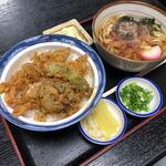 角三 - 天丼+丼セット