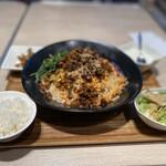 四川担担麺1841 - 汁無し坦々麺セット