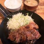 イベリコ豚おんどる焼 裏渋屋 - トンテキランチ