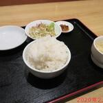 上海飯店 - ご飯セット 350円