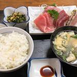 タカラ亭 - 刺身定食(松)