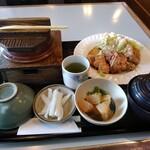 さん・はっと - 料理写真:釜飯とチキン南蛮のセット