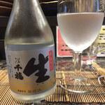 小春橋田野 - ドリンク写真:日本酒「千福」