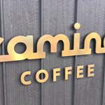 カミノコーヒー - 金色のロゴが可愛いです♡