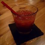 ルーエプラッツ ツオップ - ブラッドオレンジジュース