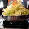 びわこ食堂 - 料理写真:とりやさい鍋2人前(750円☓2)