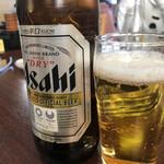 藤ヶ丘食堂 - アサヒ中瓶♪