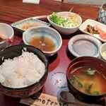 月の庭 - 天ぷら定食B